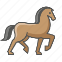 animal, farm, horse icon