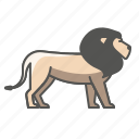 animal, lion, wild icon