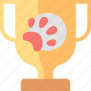 animal, award, contest, pet, prize, trophy, winner icon