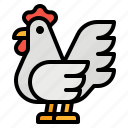 animals, chicken, food, hen icon
