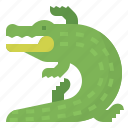 animals, crocodile, reptiles, wild icon