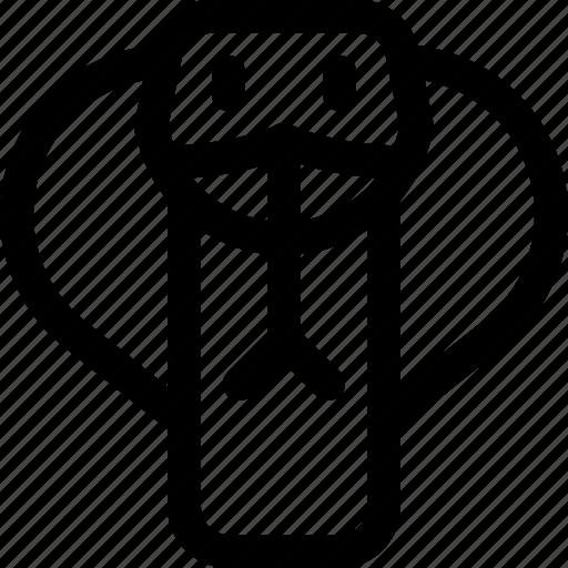 Snake, lizard, cobra, adder, viper, animal icon - Download on Iconfinder