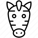 white, zebra, black, crossing, stripes, african, mammal