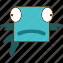 animal, fish, fish face, fishing icon