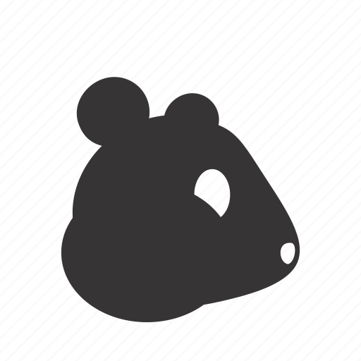 animal, domestic, hamster, head, pet icon