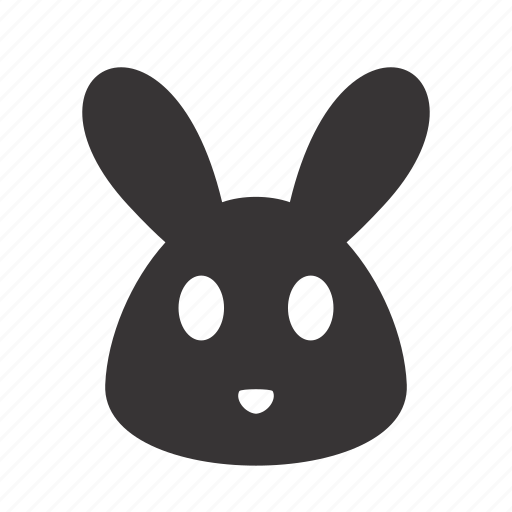 animal, face, hare, head, pet, rabbit icon