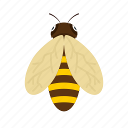 bee, bees, fly, honey, honeybee, nature, wind icon