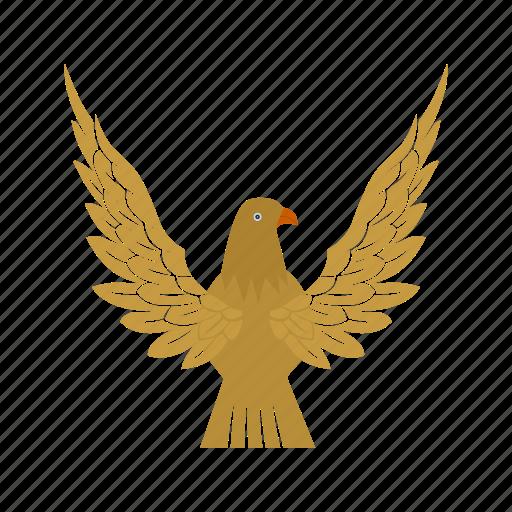 bird, eagle, falcon, flight, sky, wing icon