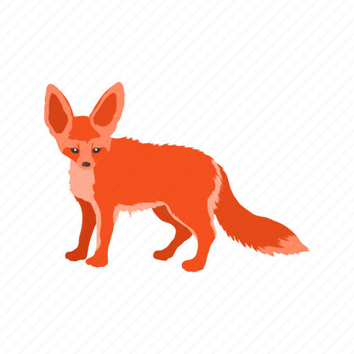 animal, fox, jungle, mammals, reynard, snow, wild icon