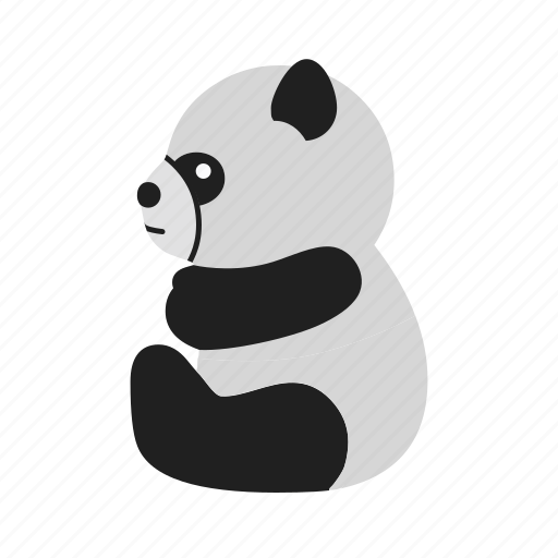 animal, bamboo, bear, mammal, panda, snow, wildlife icon