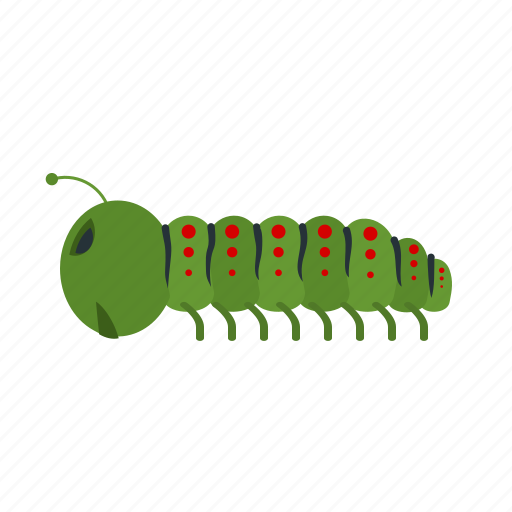 animal, caterpillar, larva, moth, moths, pest, worm icon