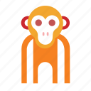 animal, chimpanzee, lemur, monkey icon