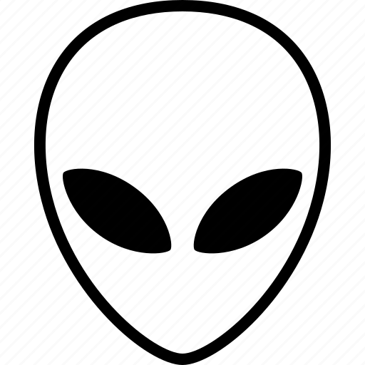 alien, being, extraterrestrial, face, life, lifeform, martian icon