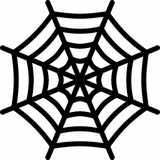 cobweb, net, silk, spider, spiderweb, trap, web icon