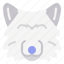 animal, dog, wildlife, wolf icon