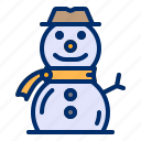 cold, ico, snow, snowman, winter