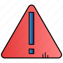 alarm, alert, danger, exclamation, warning icon