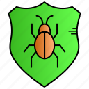 antivirus, bug, protect, security icon