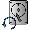 backup, data, file, storage icon