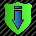 database, download, refresh, update icon