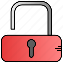 access, key, open, unlock icon