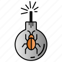 attack, bug, infection, virus icon