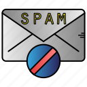 antispam, email, mail, message icon