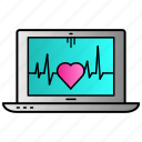 computer, health, monitor, pc icon