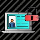 account, avatar, locked, profile, user icon
