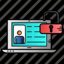 account, avatar, profile, unlocked, user icon