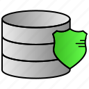 data, database, protection, security, storage icon