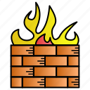 antivirus, fire, firewall, guard, secure icon