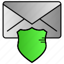 chat, email, message, protection, secure icon