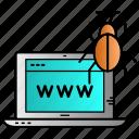 antivirus, infection, malware, rootkit, virus icon