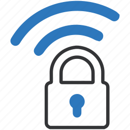 authentication, internet, password, secureline vpn, security, wifi protection icon