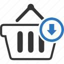 basket, cart, e-commerce, shop, store icon