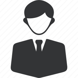 account, business, male, man, men, office icon icon