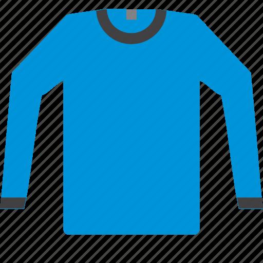 cloth, fashion, long, sleeve, tshirt icon