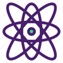 atom, education, molecule, physic icon