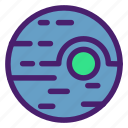 alien, astronomy, galaxy, planet, space, technology, universe icon