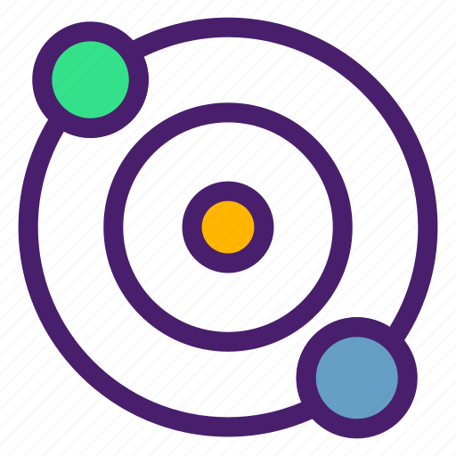 astronomy, blackhole, galaxy, orbit, planet, space, universe icon