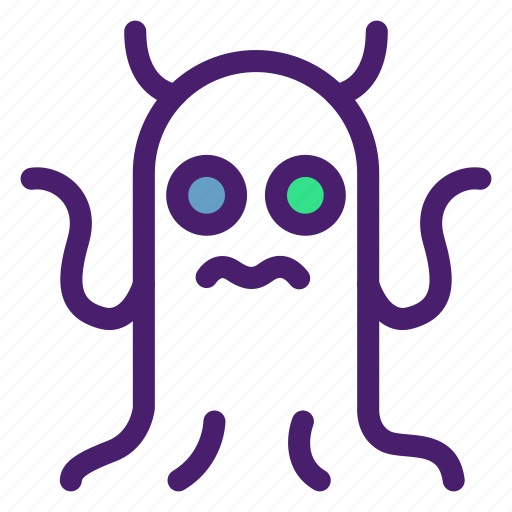 alien, astronomy, creature, galaxy, monster, space, universe icon