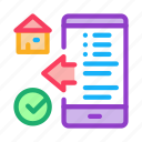 app, building, check, floor, house, phone, plan