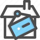 hanging, property, real estate, rent, sale, sold, sold out icon