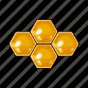 apiary, beekeeping, honey, honeycomb, wax icon