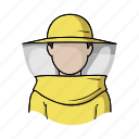 apiary, beekeeper, beekeeping, clothes, protection, uniform icon