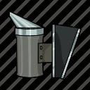 apiary, beekeeping, equipment, fumigator, smoke, tool icon