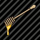 apiary, beekeeping, equipment, honey, scraper, tool icon