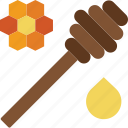 apiary, apiculture, bee, dippers, honey icon