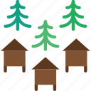 apiary, apiculture, bee, hives icon
